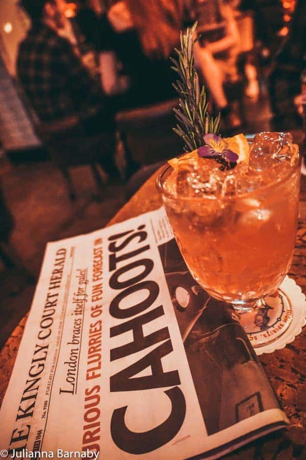 Cocktails at Cahoots