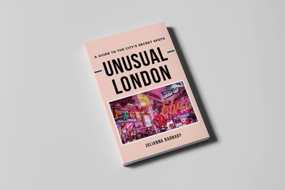 Unusual London Book by Julianna Barnaby Cover