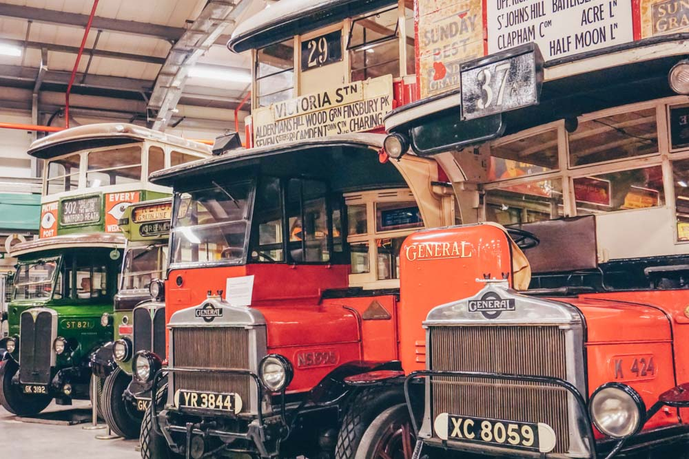London Transport Museum Depot
