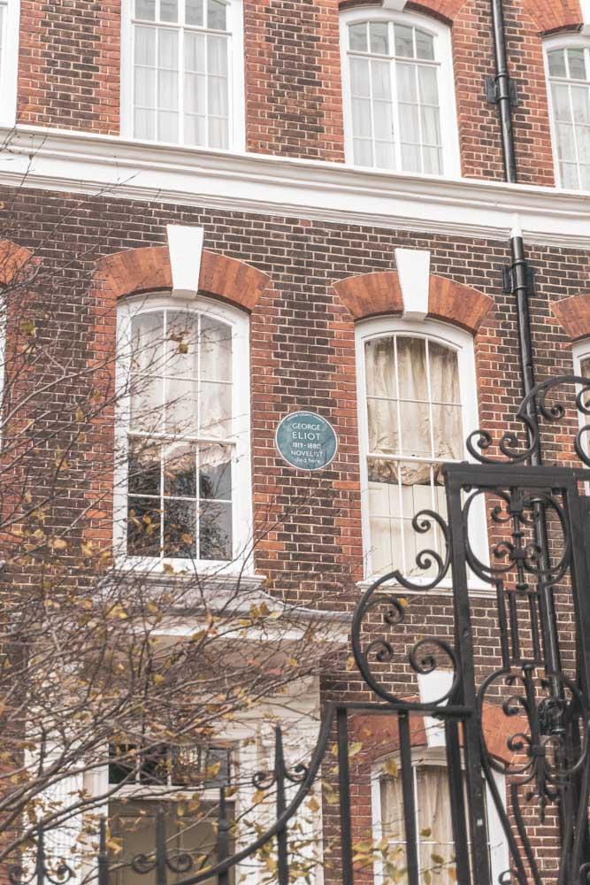 George Eliot's House Cheyne Walk