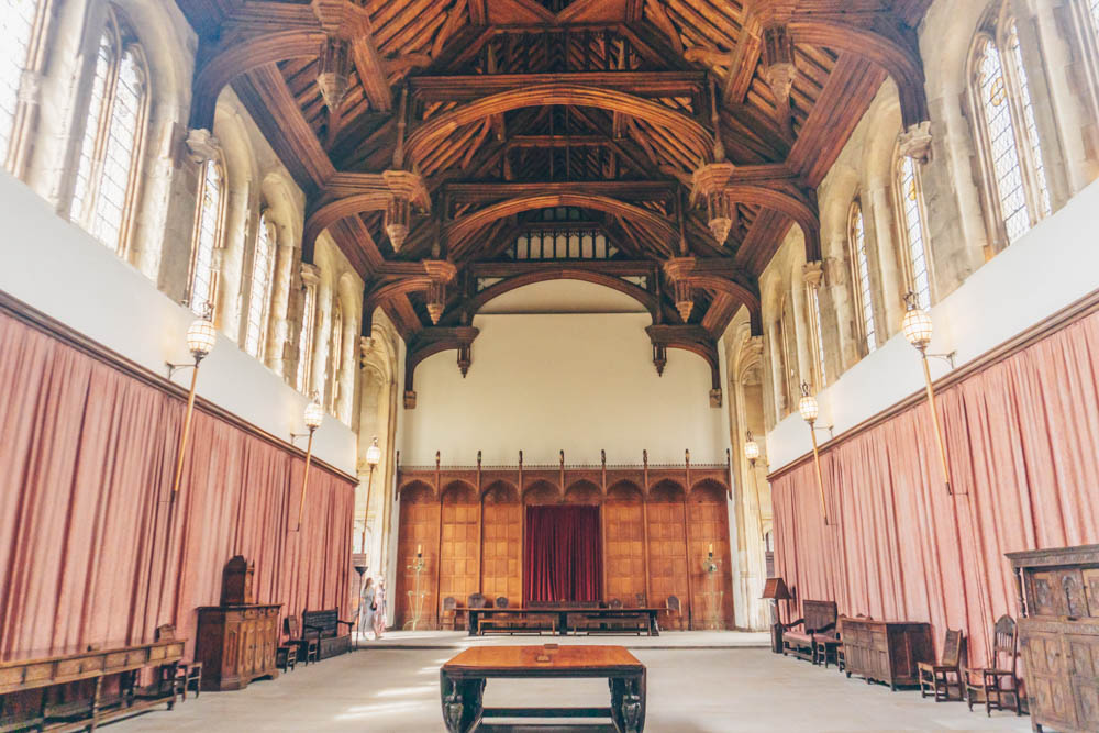 The medieval hall