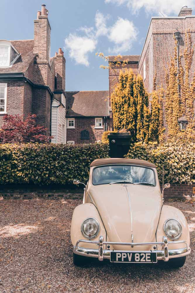 Vintage car in Highgate