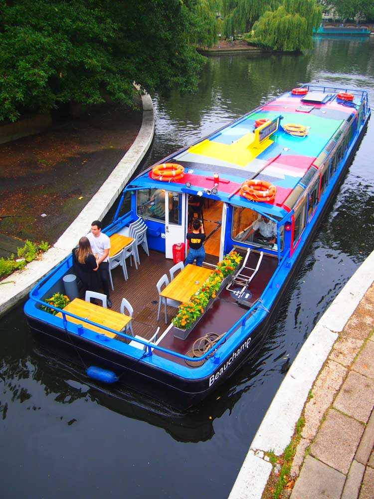 Katrina Adams Electric Barge