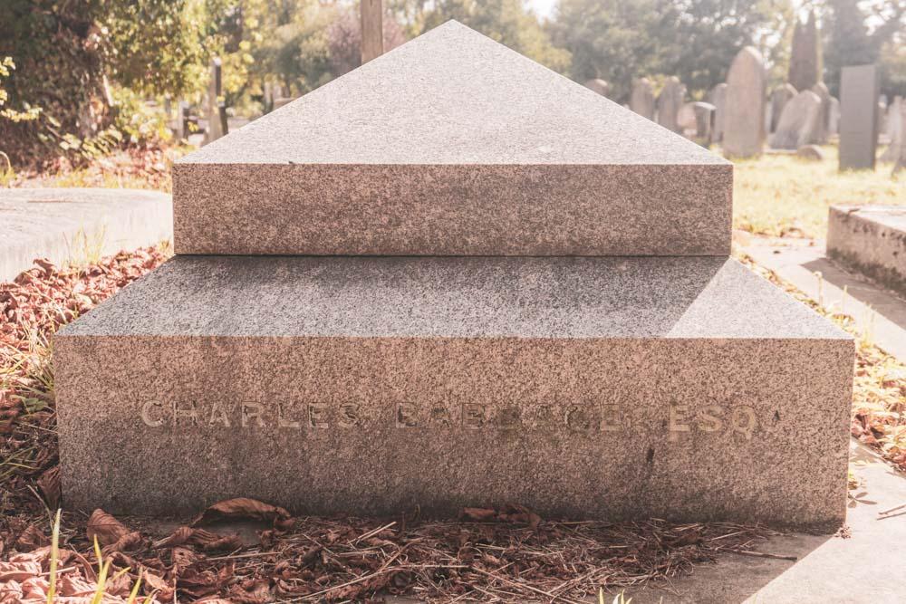Charles Babbage Grave