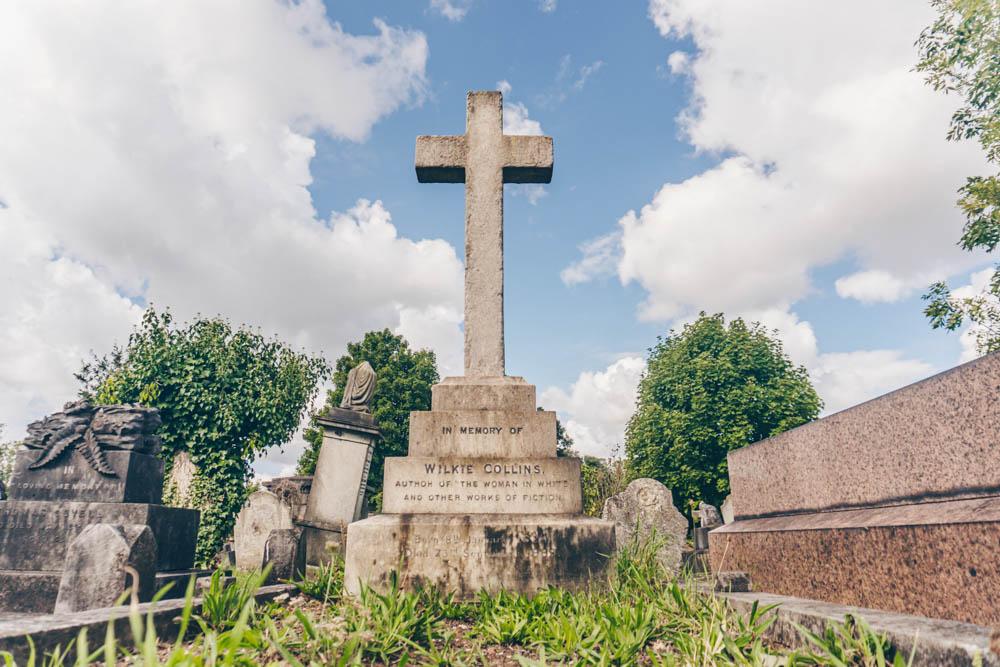 Wilkie Collins' Grave
