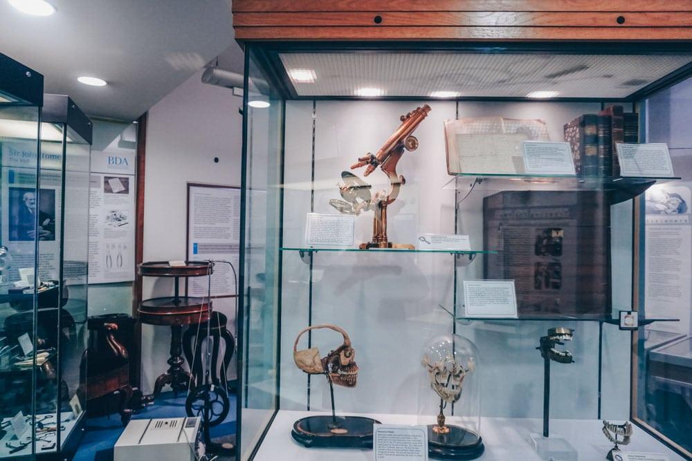Inside the British Dental Association Museum