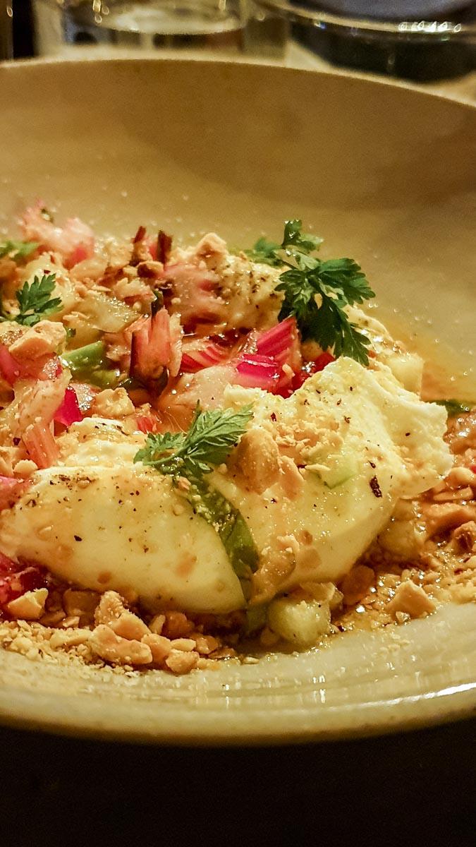 Burrata at Levan