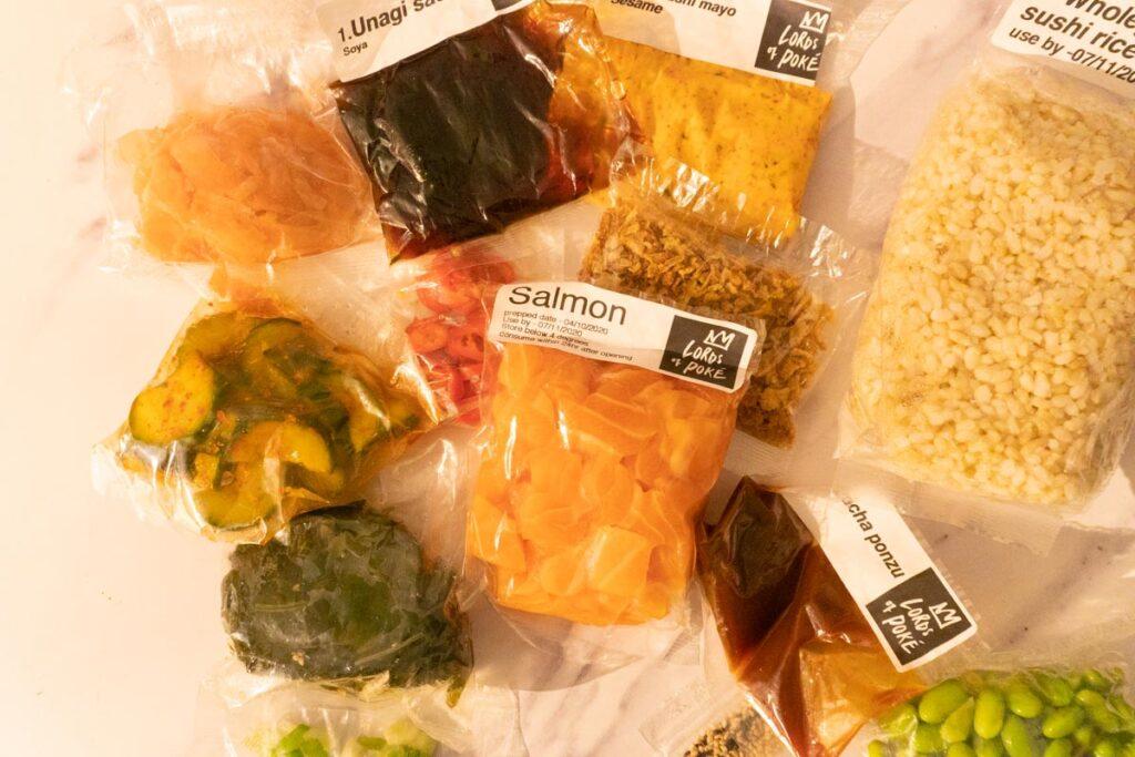 Ingredients in compostable packaging
