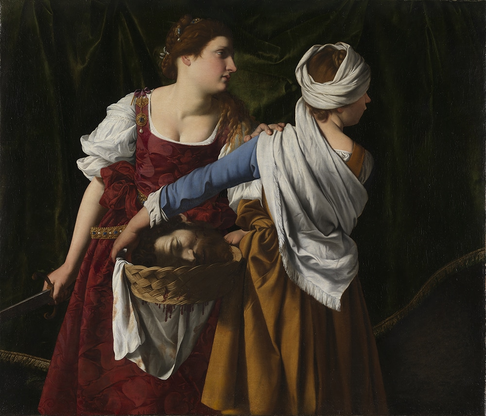 'Judith and her maidservant with the Head of Holofernes, c. 1608 Judith and her maidservant with the Head of Holofernes, about 1608