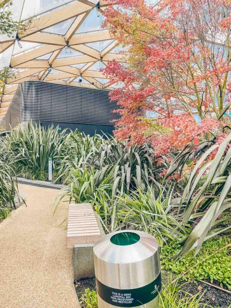 Crossrail Place Garden