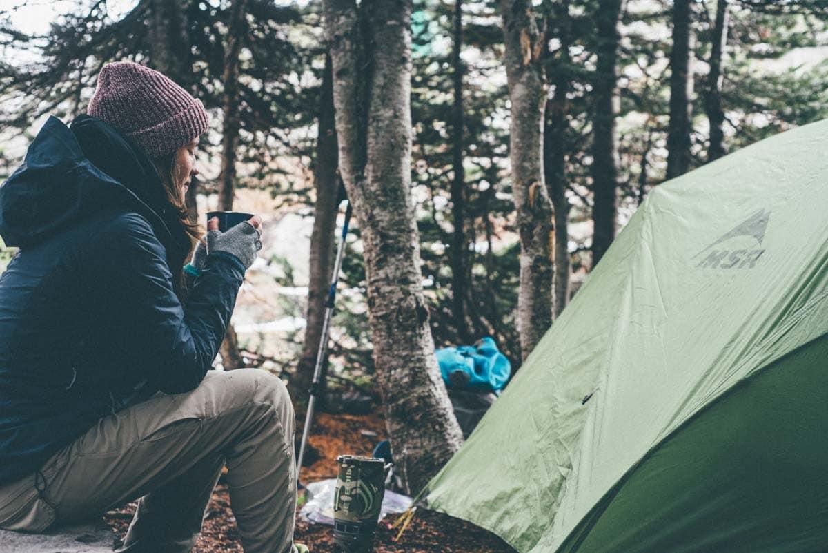 Camping London