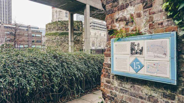 London Wall: A Walk Through Old London (+ Map)