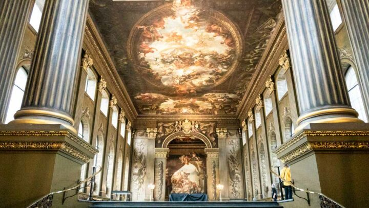 The Painted Hall, Greenwich – Discover the UK's Answer to the Sistine Chapel