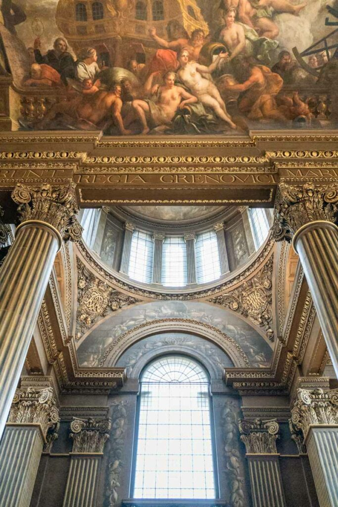 Painted Hall Details