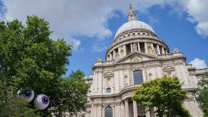 Eyeconic London Art Trail: Have You Spotted the Giant Eyes Dotted All Over the Capital?