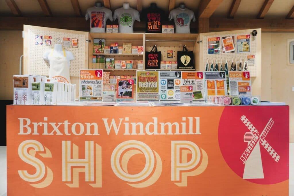 Brixton Windmill Shop