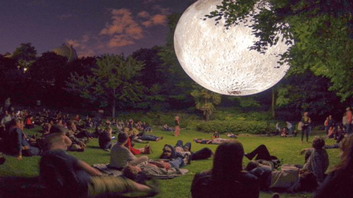 Museum of the Moon: Luke Jerram's Spectacular Lunar Exhibition Arrives in Kensington