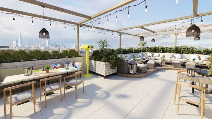 Skylight: Peckham's Getting Another Rooftop Bar This Month… and it Looks Amazing