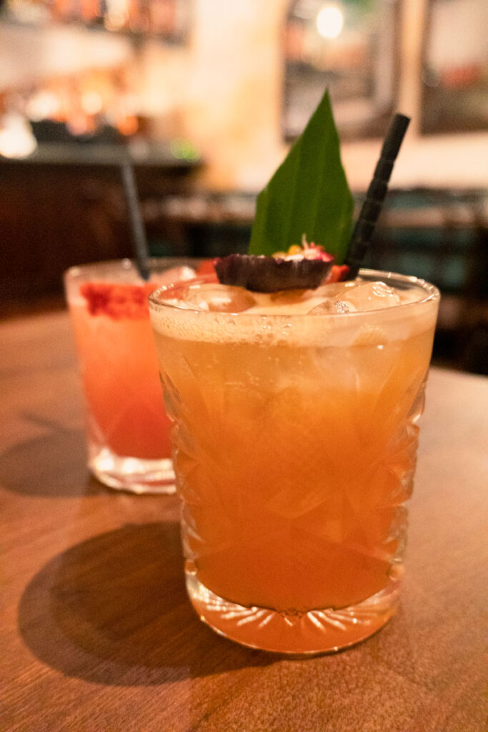 Cocktails at Fatt Pundit