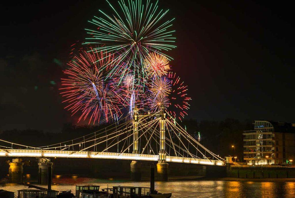 Fireworks Battersea Park