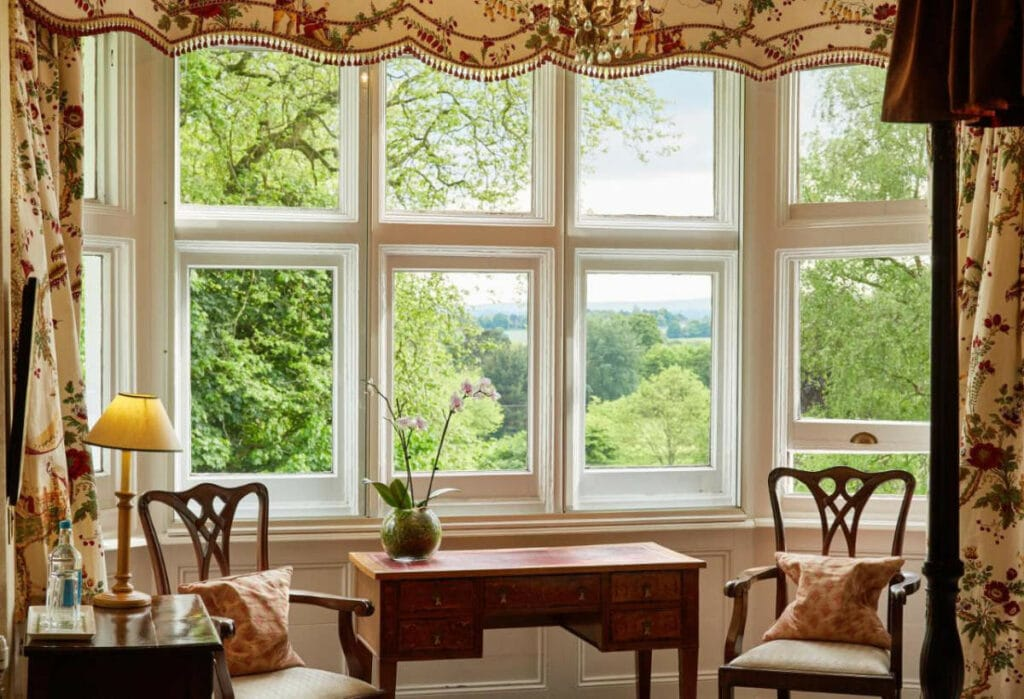 Room with a view at Ockenden Manor