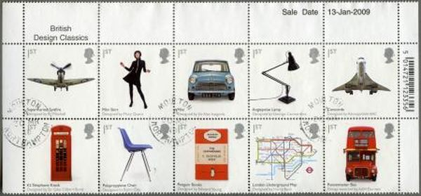 Royal Mail Stamps Commemorated